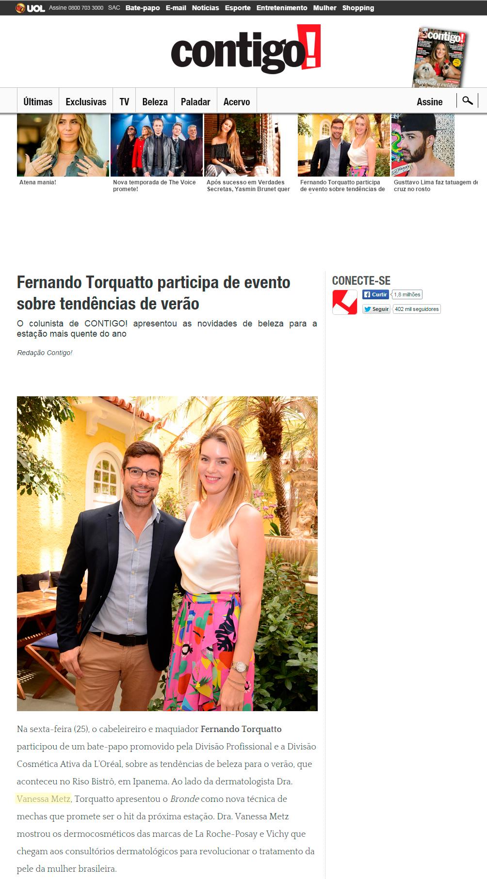 Fernando Torquatto participa de evento sobre tendências de verão